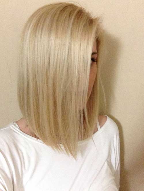 Straight Long Bob for Fine Hair Ideas