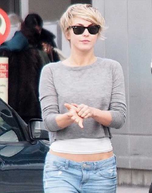 Street Style Casual Short Haircuts
