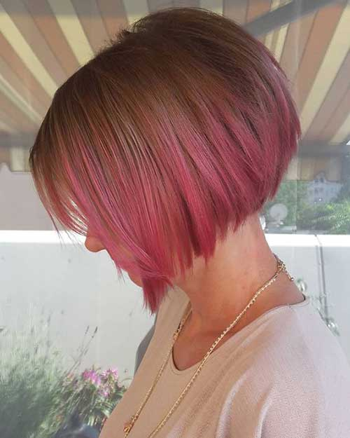 ... Agyness Deyn Pixie Cut. on shaved hairstyles with pink highlights