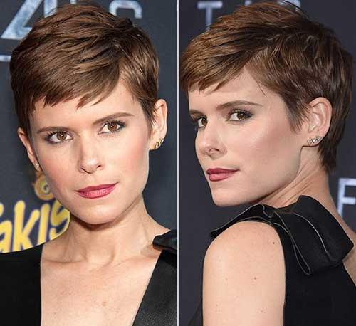 Stylish Very Short Haircut