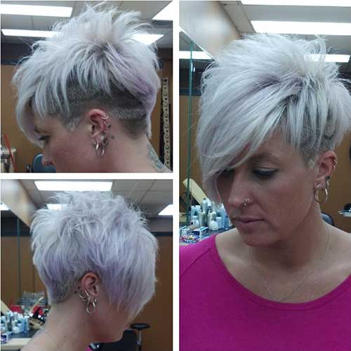 Very Short Blonde Haircuts for Women