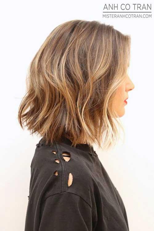 Wavy Bob Haircuts For 2015
