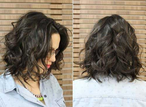Wavy Short Curly Natural Hairstyles