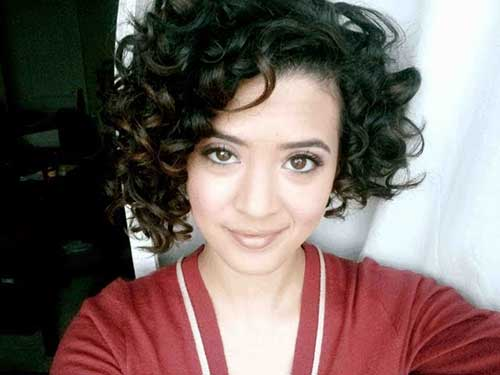Short Naturally Curly Hairstyles-12