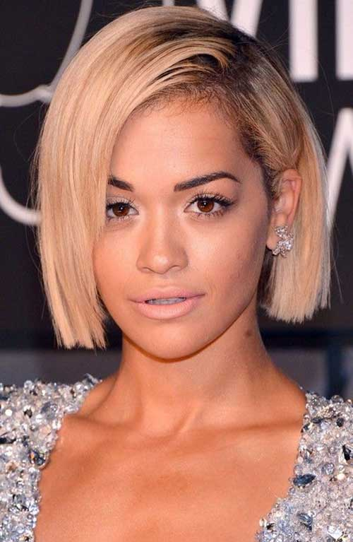 For a different style blunt bob haircuts short hairstyles 2016 blunt bob haircuts 15 solutioingenieria Gallery