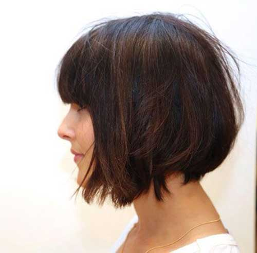 Short Haircuts with Bangs-15