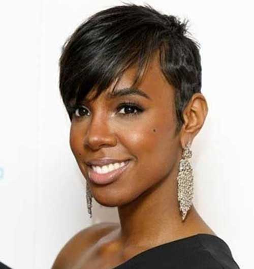 Low Cut Hairstyles For Black Females: Black Women's Pretty Short Hairstyles