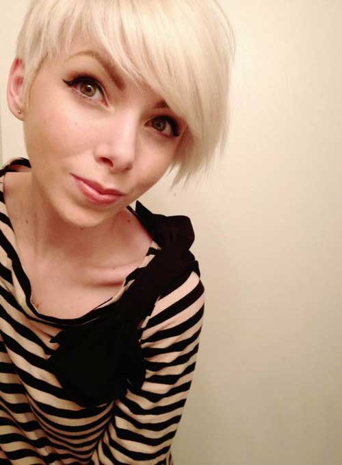 Really Cool Asymmetrical Pixie Cut Pics