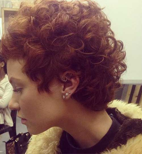 Different Curly Short Hairstyles Pictures Short