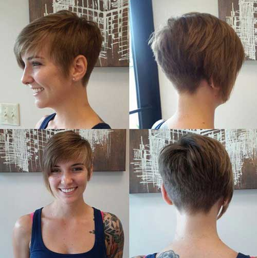haircuts in front in back pictures trendy pixie cut styles you should try in 2016 3929