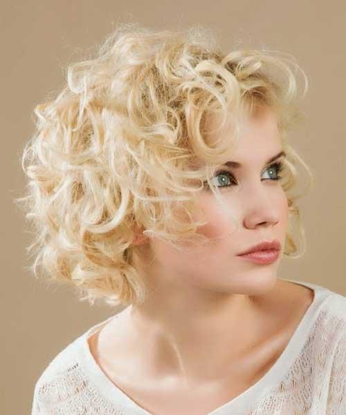 Short Curly Hair-19