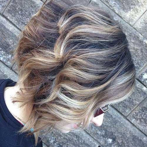 Wavy Short Hairstyles-19
