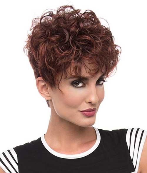 Short Curly Hair-6