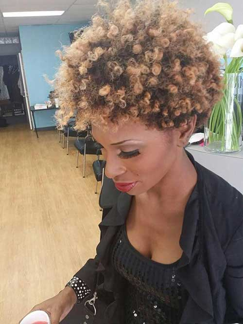 Short Naturally Curly Hairstyles-6