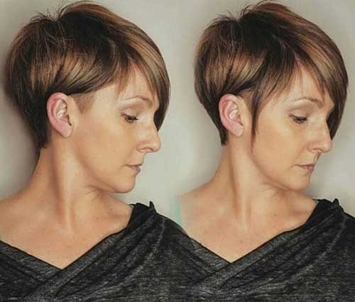 Short Straight Hair Styles-6