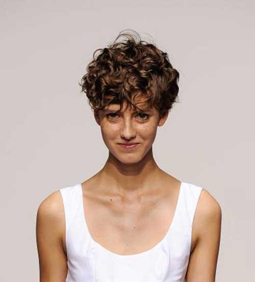 Short Curly Hair-8