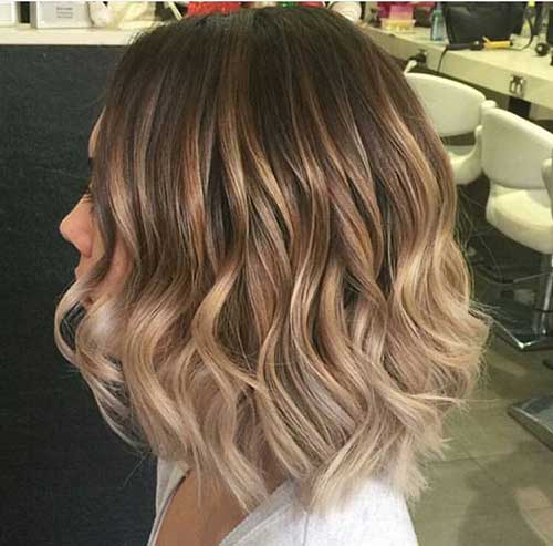 Short Wavy Hairstyle-8