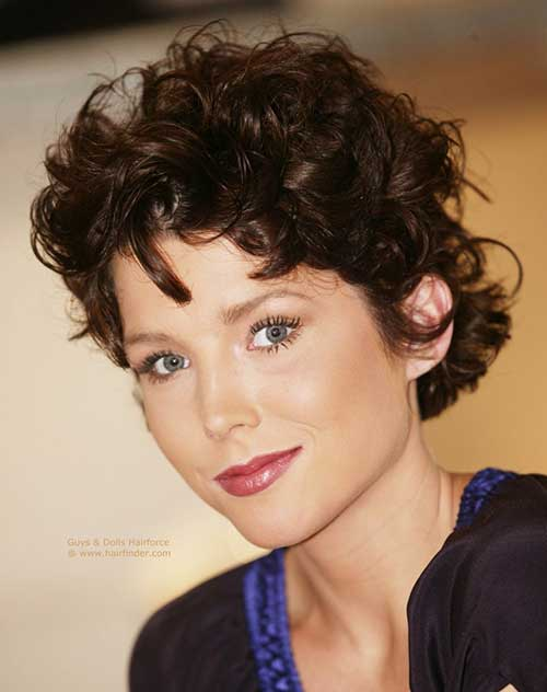 Short Naturally Curly Hairstyles-8