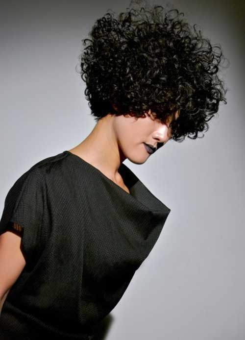 Short Naturally Curly Hairstyles-9