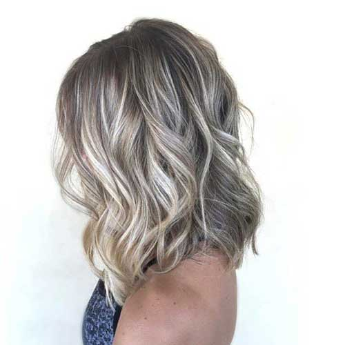 Ash Blonde Bob Color Styles