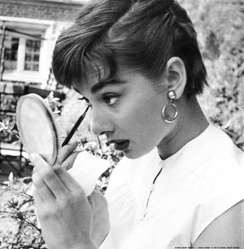 Audrey Hepburn Cute Pixie Cuts