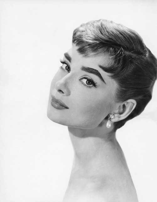 Audrey Hepburn Fashionable Pixie Cuts