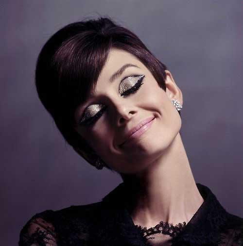 Audrey Hepburn Pixie Cut Style