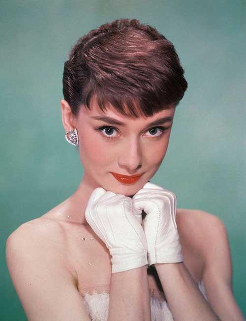 Audrey Hepburn Hair Styles Endearing 10 Audrey Hepburn Pixie Cuts  Short Hairstyles 2016  2017 .