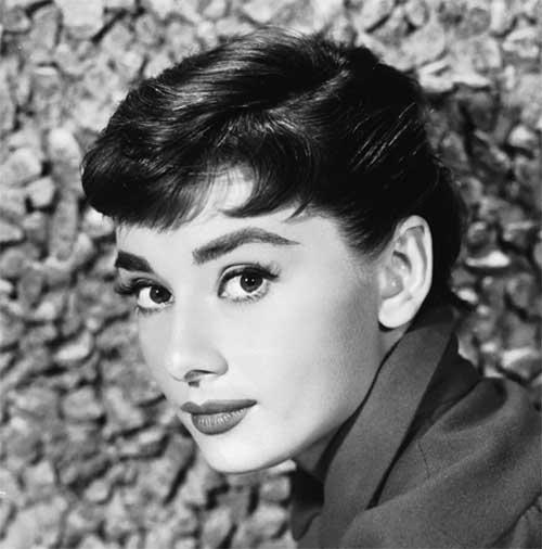 Audrey Hepburn Pixie Cut Images
