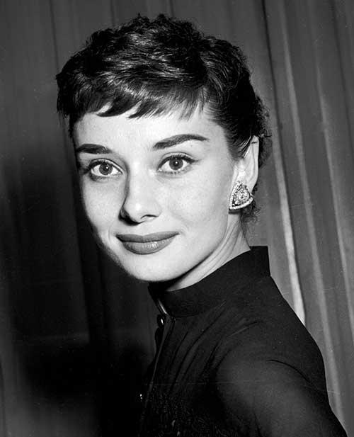 Audrey Hepburn Pixie Hair Pics