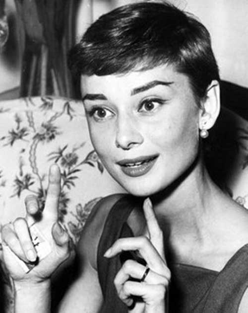 10 Audrey Hepburn Pixie Cuts Short Hairstyles 2016