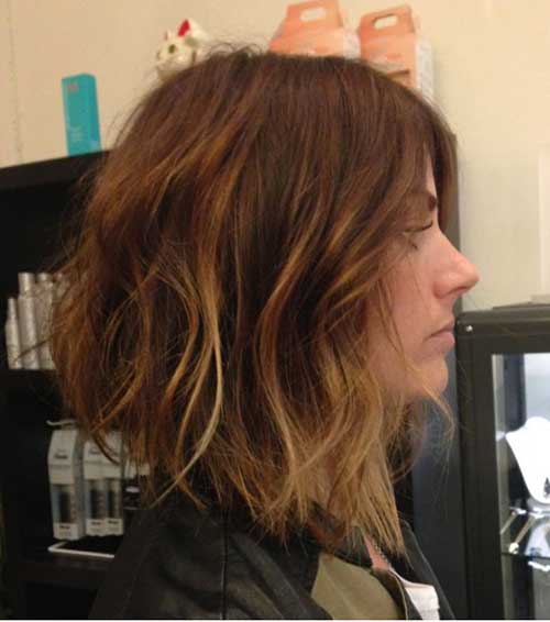 Best Balayage Inverted Bob Haircuts