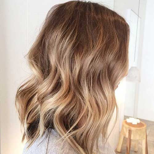 Balyage Blonde Bob Color Ideas