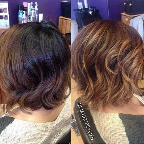 Balyage Bob Color Ideas