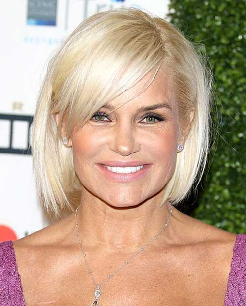 Beach Blonde Bob Hair Cuts