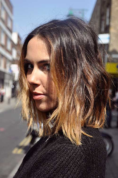 Blonde Ombre Bob Short Hairstyles