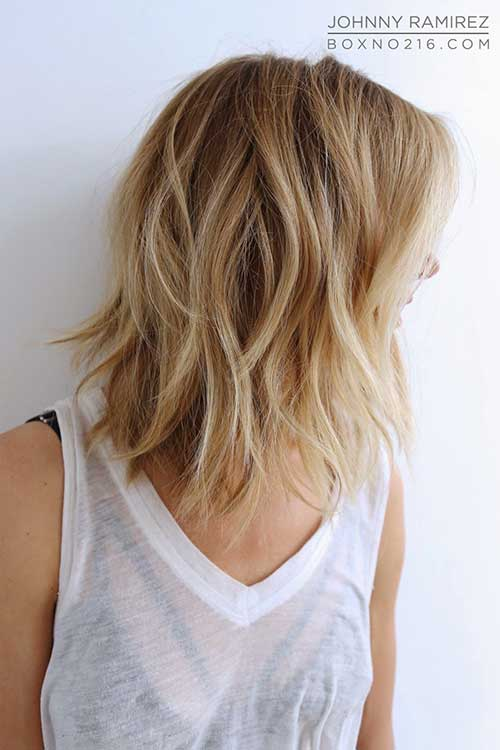 Blonde Ombre Bob Style