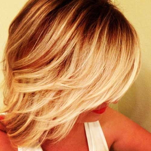 Best Blonde Ombre Short Hair Styles