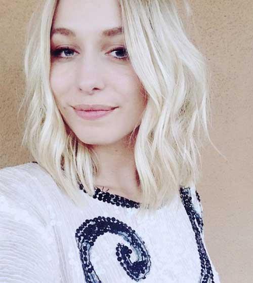 Blonde Short Wavy Haircuts