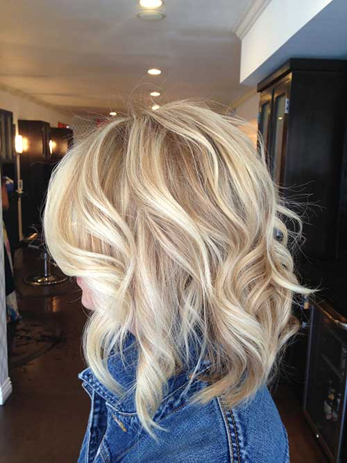 Blonde Short Layered Haircuts