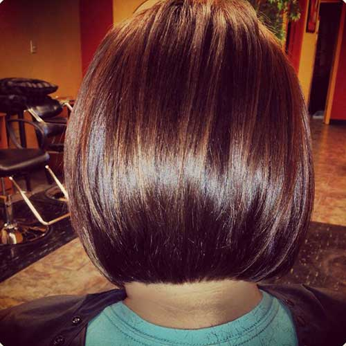 Bob Haircuts for Fine Hair Back View Pictures