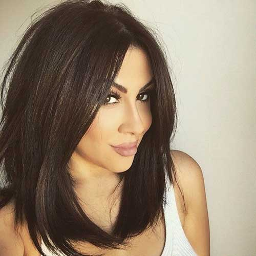 15 Popular Brunette Bob Hairstyles Short Hairstyles 2016 - 2017 ...