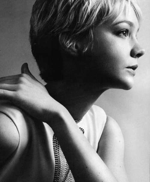 Carey Mulligan Pixie Cut Styles