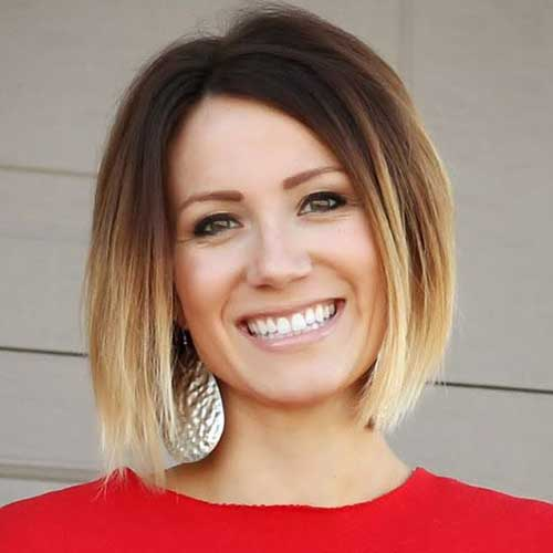 Casual Ombre Short Hairstyles