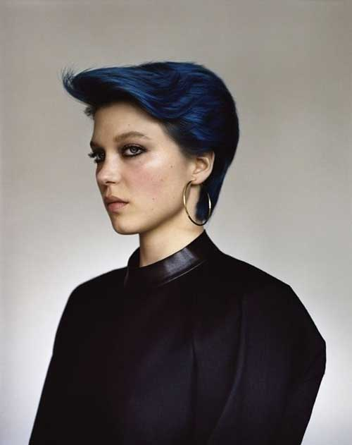 Best Chic Blue Pixie Hairstyles