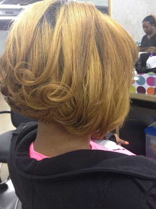 Classy Bob Inverted Haircuts Pictures