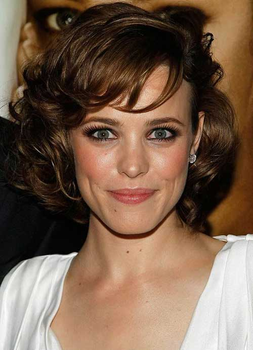 haircuts for oval face and wavy hair hairstyles for oval faces hair 2608 | Classy Short Hair for Curly Hair Oval Face