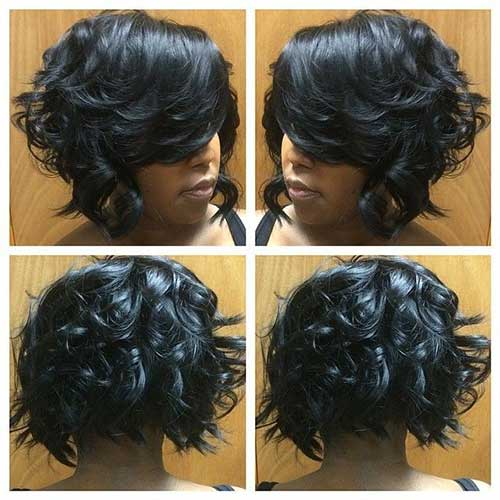Curly Bob Weave Short Hairstyles