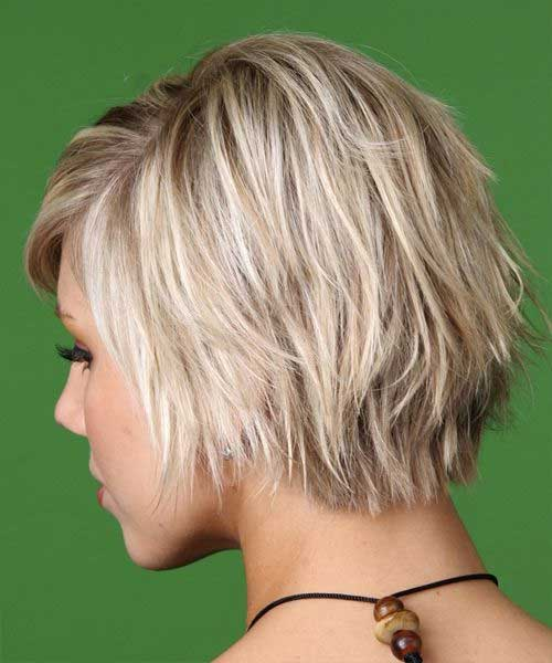 Cute Layered Blonde Haircuts For Short Hair