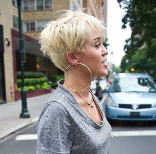 Cute Short Blonde Hair Styles Ideas